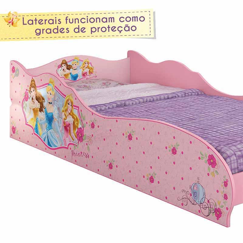 Mini cama infantil princesas disney pura magia clik baby cama para quarto infantil - Camas de princesas ...