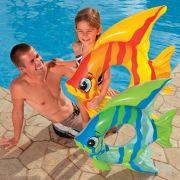 B�ia Infl�vel Infantil Peixinho Divertido Intex 59219 - 94 cm x 80 cm