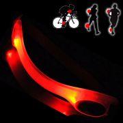 Bra�adeira Sinalizador Noturno Safe light Led Vermelho CBRN0104