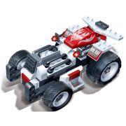 Brinquedo Carro Corrida Apollo 102 Pe�as em Blocos de Montar CBRN0869