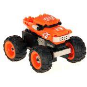 Brinquedo Carro Monstro de Corrida com 81 Pe�as em Blocos de Montar CBRN0876
