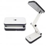 Lumin�ria De Mesa Articulada 24 Leds Recarreg�vel Abajur DPLED-5S LED-666