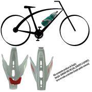 Suporte Bicicleta Squeeze Garrafa Caramanhola Bike Branco CBRN01767