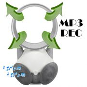 Mini Caixa de Som MP3 e REC Ventilador Sem H�lice Magic Ar USB Colorido DS809