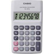 Calculadora de Bolso Casio HL-815L-WE-S4-DH Branca, 8 D�gitos,Big display com tampa