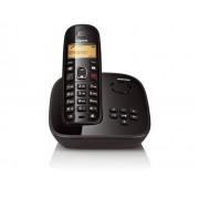 Telefone sem Fio Gigaset Siemens A495 Preto - DECT 6.0 com Secret�ria Eletr�nica, Viva-Voz, Id. Chamadas e Teclado Luminoso