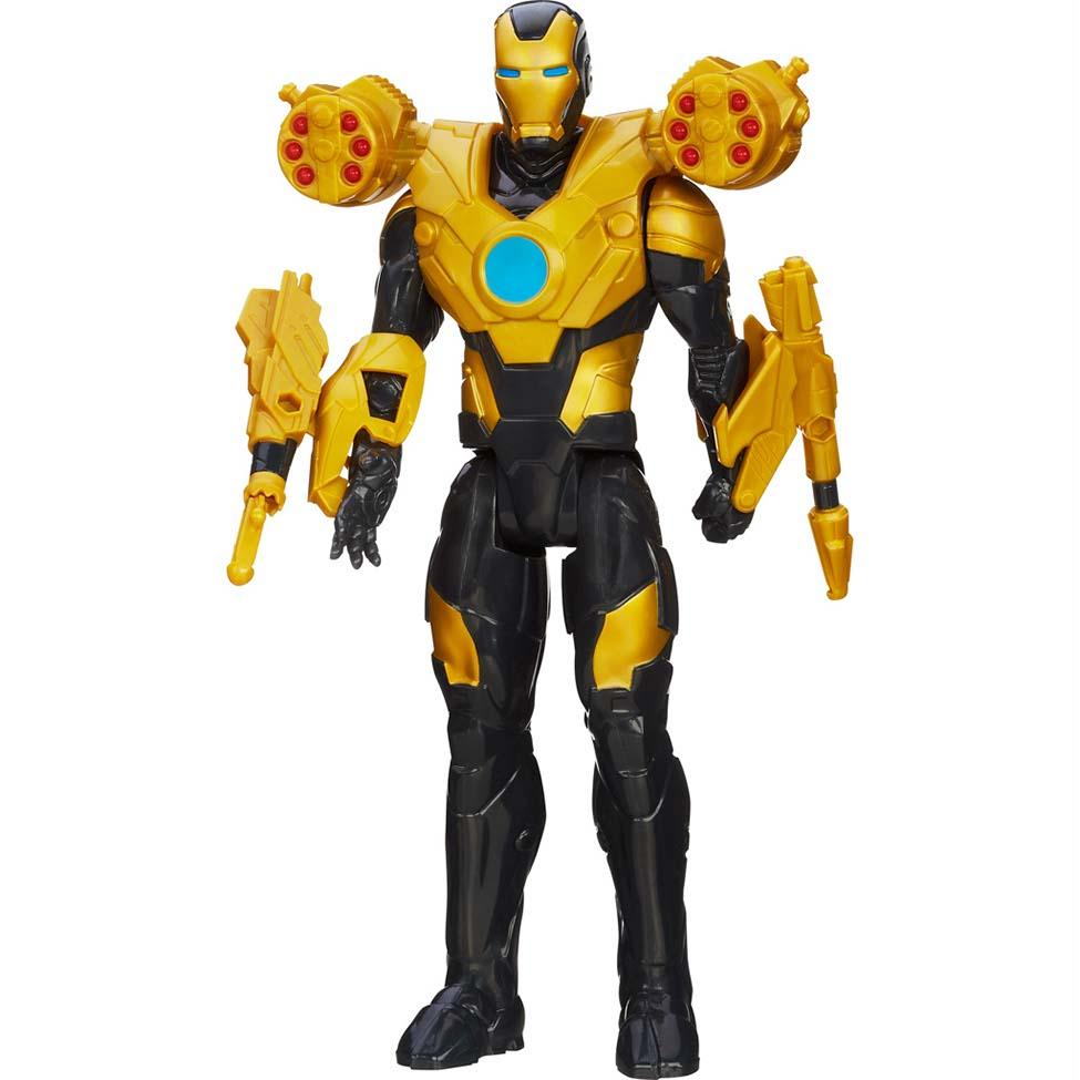 Boneco Avengers Homem de Ferro Titan Hero Luxo - Hasbro