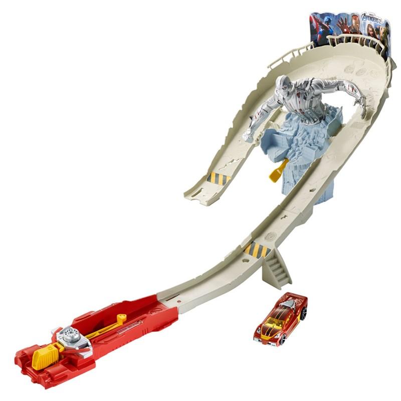 Pista de Corrida Hot Wheels Vingadores 2 Ataque Ultron - Mattel