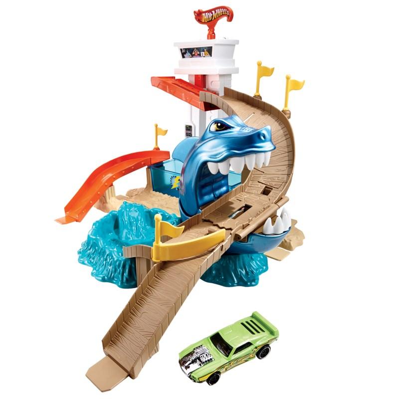 Pista Hot Wheels Ataque Tubar�o - Mattel