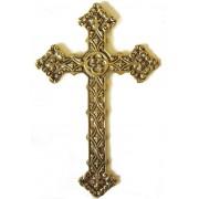 Cruz Trabalhada Grande - Bronze Maci�o ref: 110