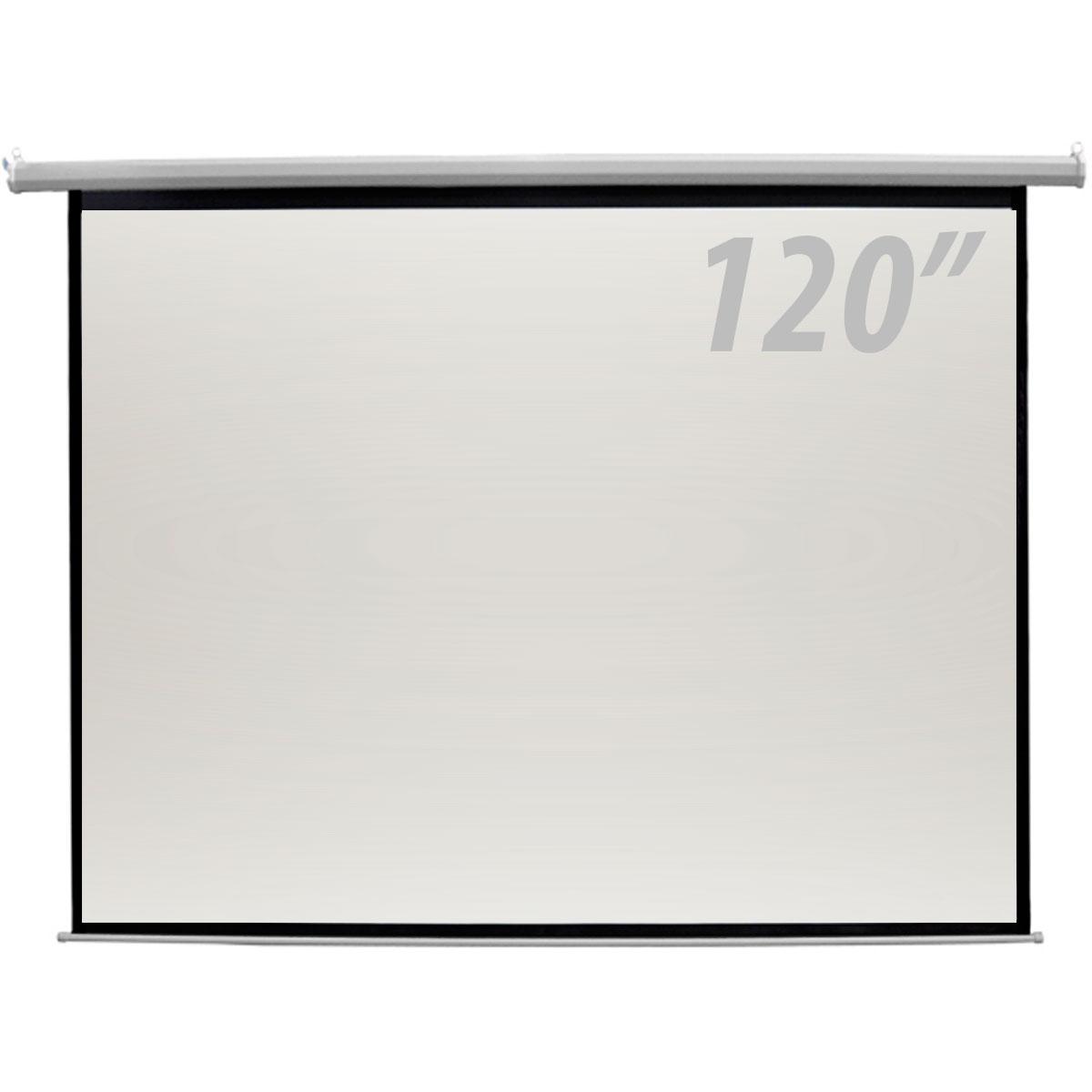 120 - Tela de Proje��o 120 Polegadas El�trica c/ Controle Remoto - CSR