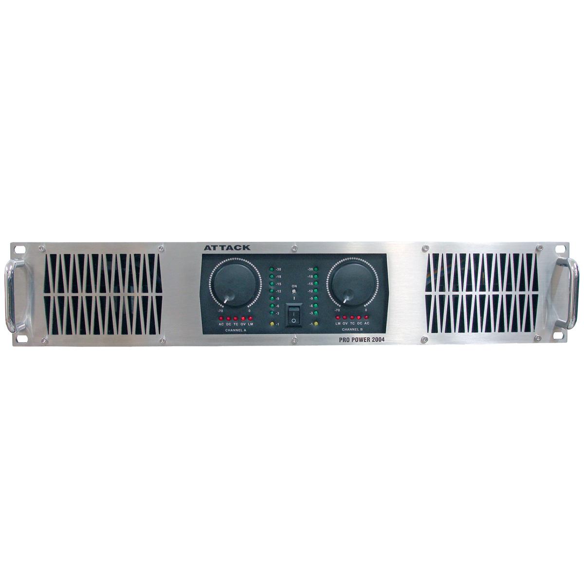 PP2004 - Amplificador Est�reo 2 Canais 2000W PP 2004 - Attack