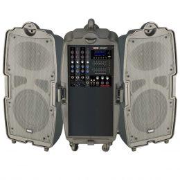 StreetSoundV - Kit Port�til c/ Mixer e 2 Caixas Street Sound V - Novik Neo