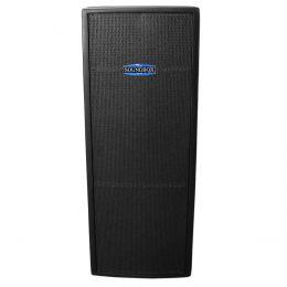 Thunder15 - Caixa Ativa 600W Thunder 15 Dupla Preta - SoundBox