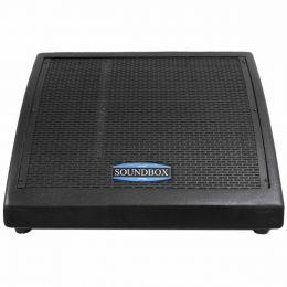 MS12 - Monitor Passivo 250W MS 12 Preto - SoundBox