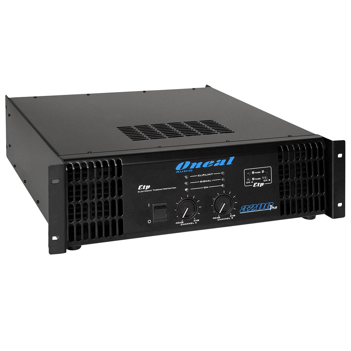3200PRO - Amplificador Est�reo 2 Canais 3200W 3200 PRO - Oneal