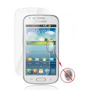 Kit com 2 Pel�culas protetora Pro fosca anti-reflexo / anti-marcas de dedos para Samsung Galaxy S Duos S7562