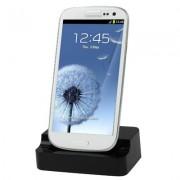 Dock carregador de bateria para Samsung Galaxy S III i9300 - Cor preto