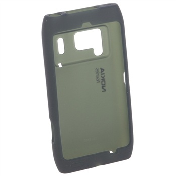 Capa de silicone Nokia CC-1005 para Nokia N8 - Preto