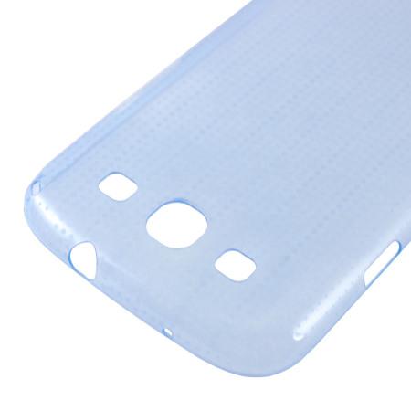 Capa de silicone para Samsung Galaxy S3 GT-I9300 - Cor Azul - Original