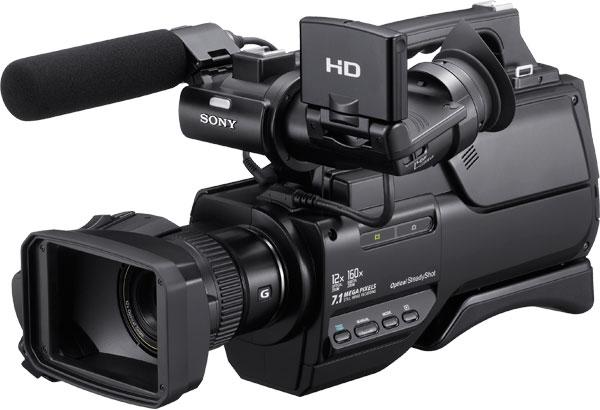 Filmadora Sony HXR-MC2000 - AVCHD, Sensor CMOS Exmor, Mem�ria 64GB, Zoom �ptico 12x, V�deo Full HD, Microfone externo, Tela 2.7