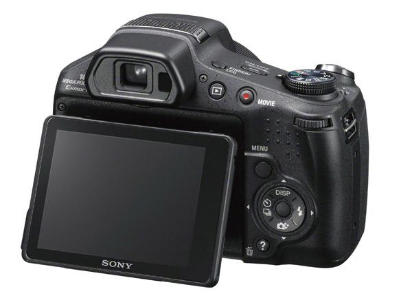 C�mera Digital Sony DSC-HX200 --- 18.2MP / Zoom �ptico de 30x / LCD de 3 polegadas / GPS / V�deo Full HD 60fps