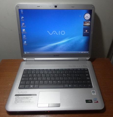 Notebook Sony Vaio Sem Uso. Vaio VGN-NS150AE Intel C2D 2.0, 250.0 GB, 4 Gigas, Wifi, Webcam, DVD-RW, 15.4