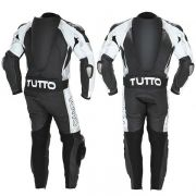 Macac�o Tutto Titanium Preto e Branco - 2 pe�as - Super Bike - Loja Oficial Alpinestars