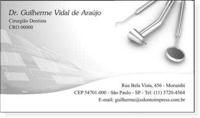 Cart�o de Visita Classic - Ref. 0899