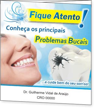 Folder Principais Problemas Bucais - Ref. 3101