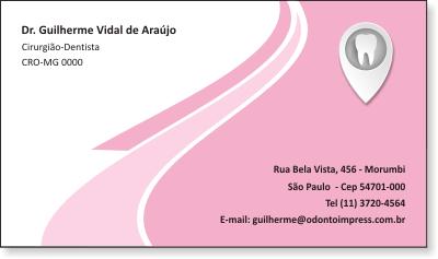 Cart�o de Visita Classic - Ref. 0890