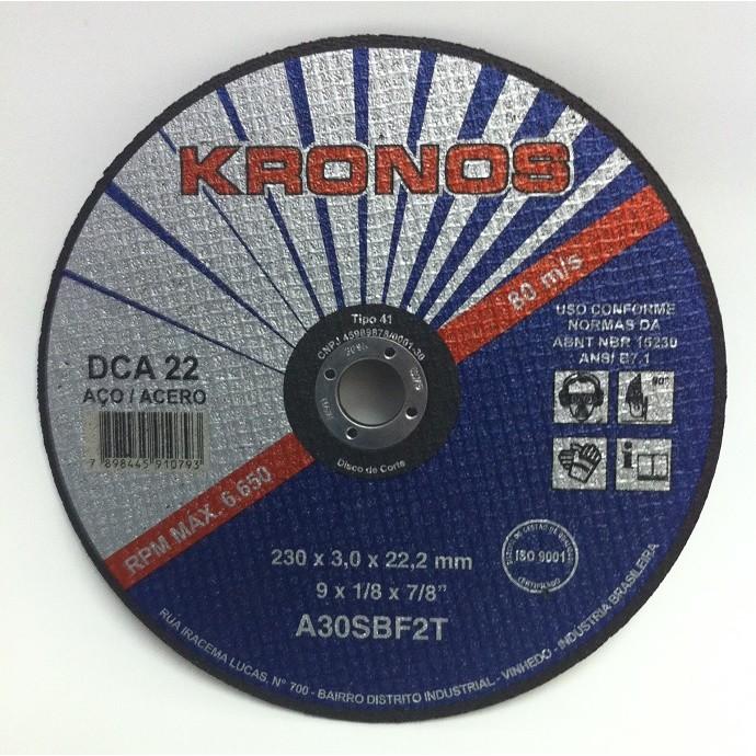 Disco Corte DCA22- 4.1/2 X 3,2MM - KRONOS