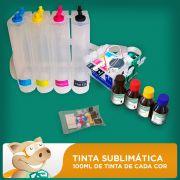 Bulk Ink Epson C63-C65-C83-C85-CX3500-CX4500 Tinta Sublim�tica