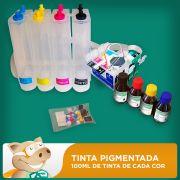 Bulk Ink Epson C63-C65-C83-C85-CX3500-CX4500 Tinta Pigmentada