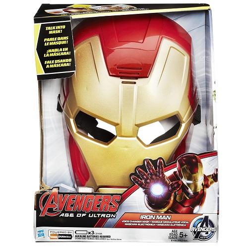 Mascara Eletronica Avengers Homem de Ferro Hasbro B0426 10842