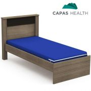Capa Colch�o Hospitalar Solteiro Azul 0,78 x 1,88 x 0,15 cm