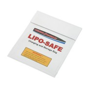 Sacola anti-chamas p/ carga/armazenamento de baterias