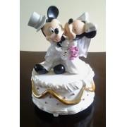 Topo para Bolo - Musical Mickey e Minnie