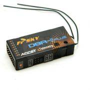 Receptor FrSky D8R-II Plus 8 Canais 2.4 Ghz Full Range com Telemetria