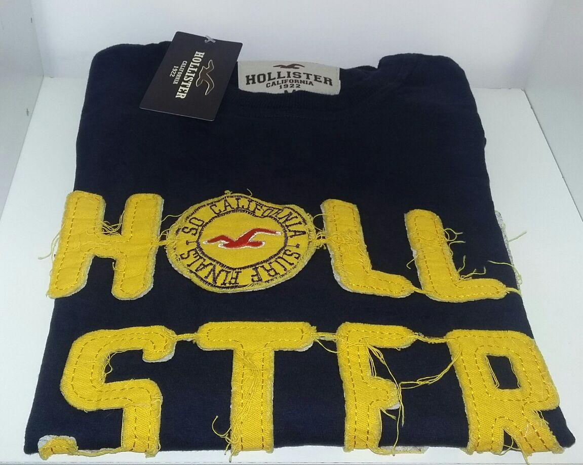 Camiseta da hollister Shop 25 da Net 0b83074a406