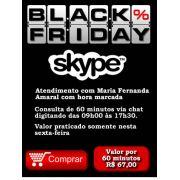 Consultoria Skype Black Friday 60 minutos