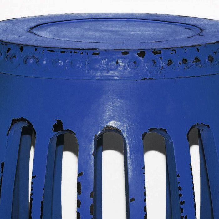 Banca Oriental De Pr:Banco de Madeira Pequim Azul – Seat Garden Tamborete – N Store