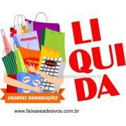 A498 - Liquida��o - Sacola cheia - Adesivo v�rios tamanhos