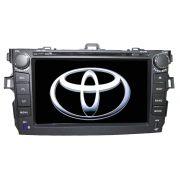 Central Multimidia Corolla 2008 2009 2010 2011 2012 2013 2014 Tv digital Gps Bluetooth Usb  Sd Card Tela 8
