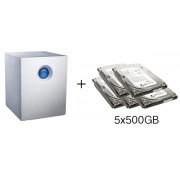 HD + Case LaCie 5big Network 2 2.5TB