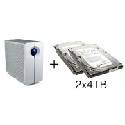 HD + Case LaCie 2Big NAS Network 8TB