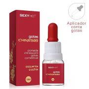 Gotas Chinesas - Gel Aromatizante Comest�vel (Excitante Esquenta Esfria)  10 ml - refer�ncia CO285/0209
