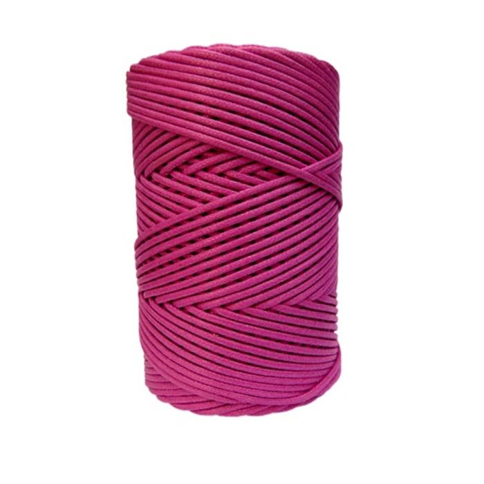 Cord�o encerado grosso pink (7725) 10mts- CDG025