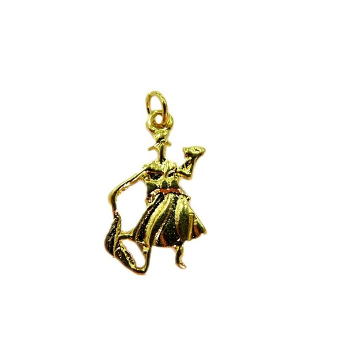 Pingente Ox�ssissi dourado(orix�)- POD004
