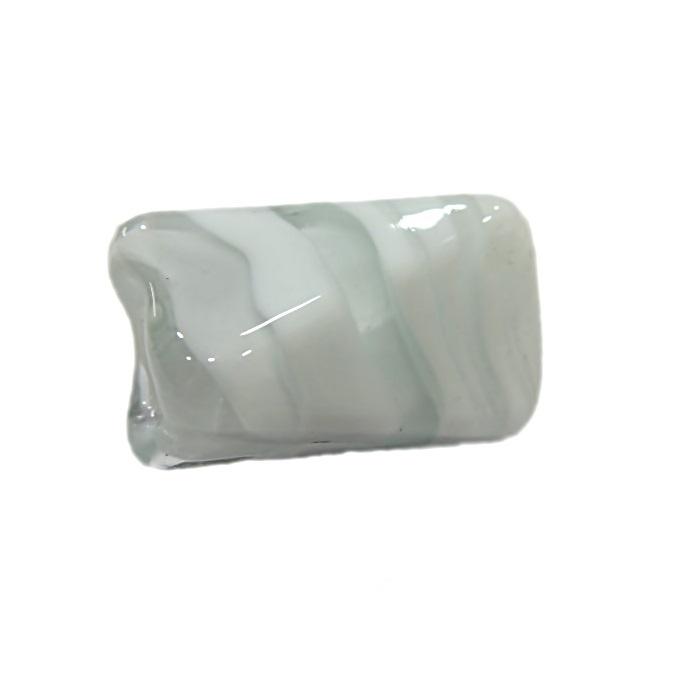 Facetado de murano G branco- MU542
